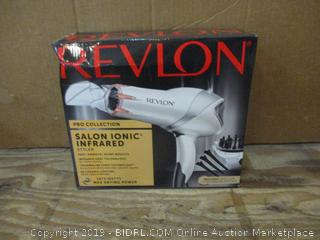 Revlon Salon Ionic Infrared Hair Dryer box damage
