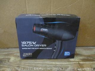 Junri Salon Dryer- not a complete set/ missing parts  box damage
