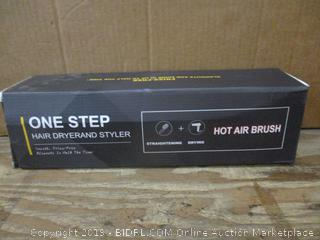 Lone Step Hair Dryer and Styler Hot Air Brush box damaged