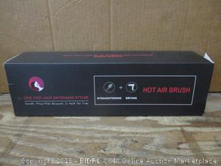 One Step Hair dryer and styler Hot Air Brush box damage