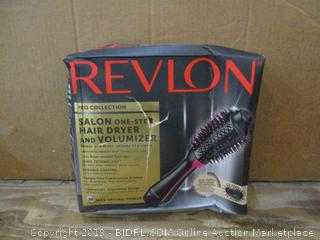 Revlon Salon One Step Hair Dryer and Volumizer  box damaged