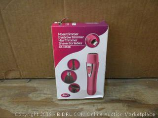 Nose,Eyebrow,Hair Trimmer Shaver for Ladies box damage