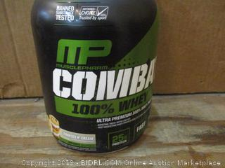 Combat Whey dented
