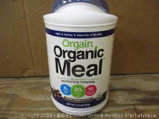 Orgain Organic Meal dented