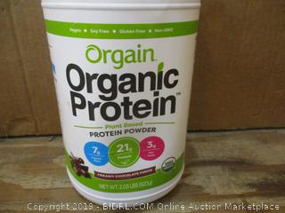 Orgain Organic Protein dented
