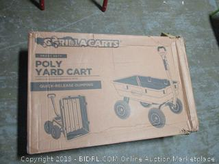 Gorilla Cart Poly Yard Cart