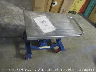 Post Hydraulic Lift Table