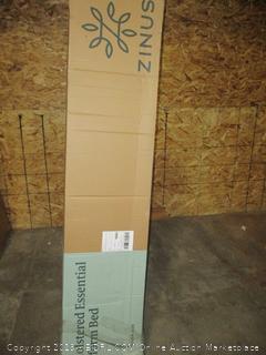 Zinus Upholstered Essential Platform Bed, Queen