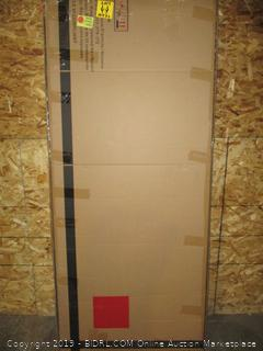 Pulaski Shelter Button Tufted Upholstered Headboard, Ash, King (Retail $223.00)
