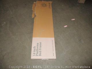 Zinus 14 Inch Platform Bed Frame, Full