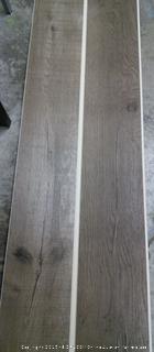 "1 Box Seaside 7"" x 48"" x 6.3mm WPC Luxury Vinyl Plank 33.46 Square Feet per Carton (online $34 per box)"