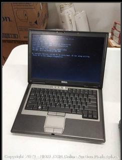 Dell Latitude D630 - No Hard Drive - Powers on - no power cord