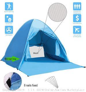 wilwolfer beach tent pop up Sun shelter (online $25