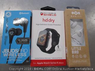 Head Phones, Hd Dry Watch