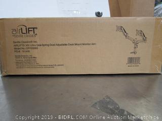Air Lift 360 Gas Spring Dual Adjustable Desk Mount