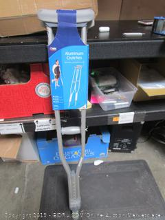 Carex Aluminum Crutches