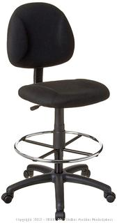 Boss Office Products B1615-BK Ergonomic Works Drafting Chair without Arms in Black (online $72)