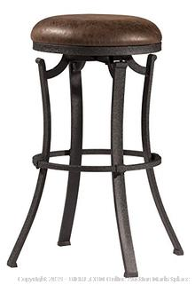 Hillsdale 4488-830 Kelford Backless Swivel Stool, Black, Bar(Factory Sealed) COME PREVIEW!!!! (online $70)