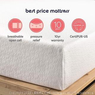 10 inch memory foam mattress twin XL (online $179)