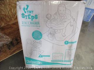 Tiny Steps 2-In-1 Walker (Missing Pieces)