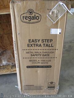 Regalo Easy Step Extra Tall Metal Walk Through Safety Gate