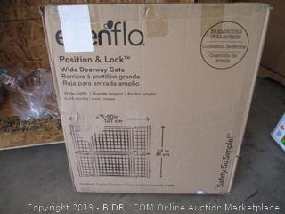 Evenflo Position & Lock Wide Doorway Gate