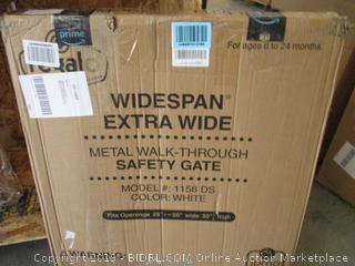 Regalo Widespan Extra Wide Metal Walk Through Safety Gate