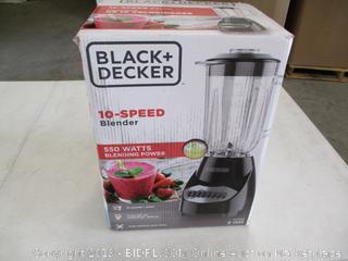 Black+Decker 10-Speed Blender (Possible Missing Parts)
