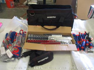 Workpro Tools and Bag See Pictures