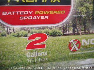 Field King Sprayer battery powered