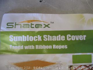 Shatex Sunblock Shade Cover