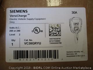 Siemens Versi Charge Electric Vehicle Supply Equipment