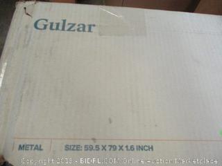 """Zinus Metal Quick Lock 1.6"""" Bunkie Board"""