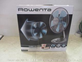 Rowenta table fan