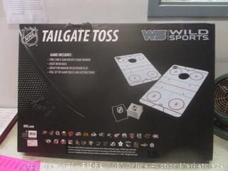 wild sports tailgate toss game - box damage