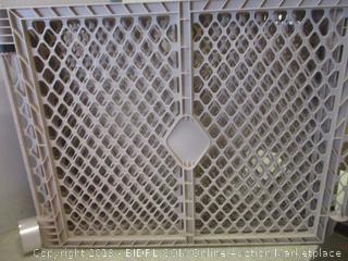 superyard 8 panel indoor/outdoor sand item - box damage