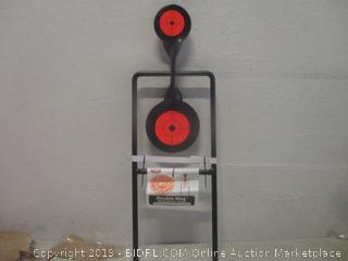 double mag metal spinner target