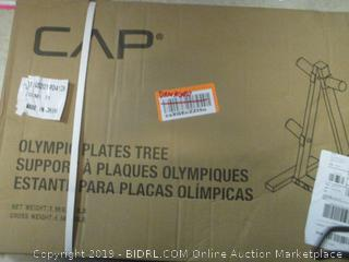 CAP olympic plates tree - damaged