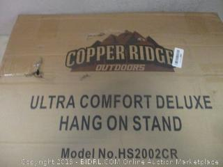 copper ridge outdoors ultra comfort deluxe hang on stand