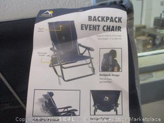 backpack event chair