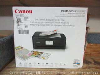 Canon wireless everyday all-in-one printer/copier/scanner -- powers on, box damage