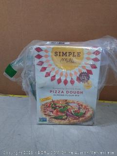 Simple Mills Almond Flour Mix, Pizza Dough, 9.8 oz, 3 count