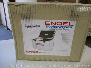 Engel Cooler/Dry Box 19 Qt with Rod Holders