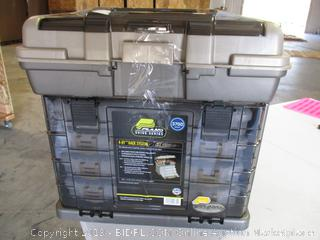 Plano 4-By Rack System 3700 Size Tackle Box
