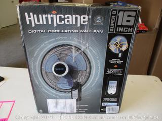 Hurricane Digital Oscillating Wall Fan