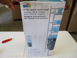 6-Tier Space Saver Shelf