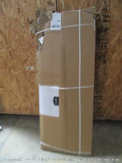Heavy Duty Aluminum Storage Rack, Two Post Steel Wire Shelf