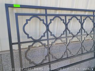 Lucious King Open-Frame Headboard (online $256)