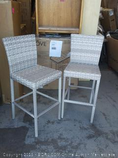 Fairmont Wicker Tall Table Chairs