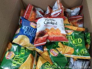 Lays Kettle Cooked Potato Chips Variety Pack, 40 Count wm | eBay